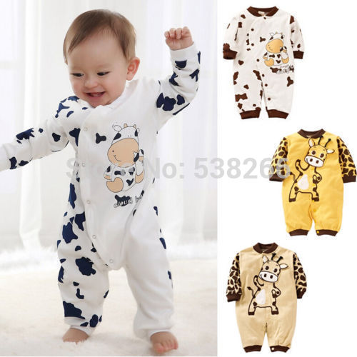 Cute Cheap Clothes For Babies Cute Cow Newborn Girls Boys