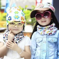 Scarf For Baby 1-8 years Random Mixed Color 5pcs/bag 2015 New Fashion