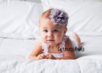 U Pick Wholesales Tulle Mesh Chiffon Lace Flower Baby Headbands,Newborns Girl's Headband