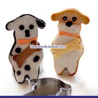 Dalmatian puppy biscuit bones cut fondant mold mold DIY baking mold tool cute animal crackers,HMC118