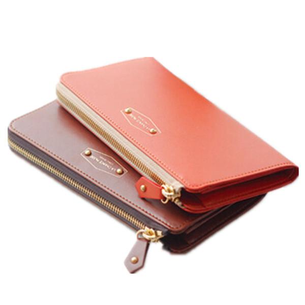Горячая распродажа 2015 новое поступление высокое качество женщин бумажник бренд женщин клатч Iphone сумка конфеты цвет женщина длинные Desgin кошельки