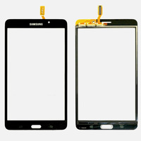 For Samsung Galaxy Tab 4 7.0 T230 New Black Outter Touch Screen Panel Digitizer Glass Panel Lens Sensor Repair Replacement