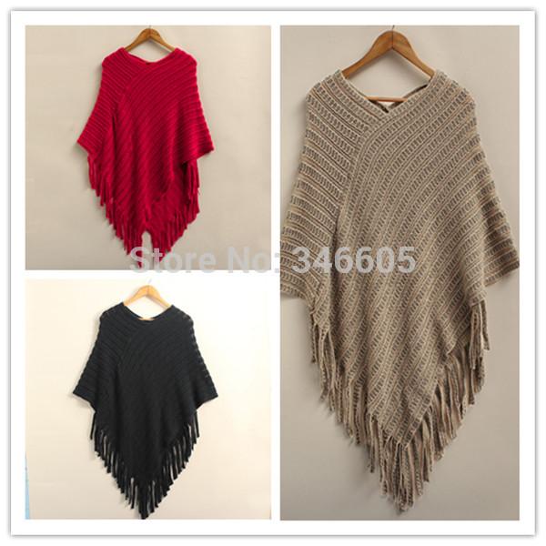 Женский пуловер NO 2015 V Batwing 3 SKU181594