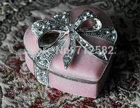 classical European Gothic heart-shaped jewelry box jewelry display holder ring box gift box high-end luxury handmade