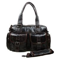 Korea Casual Man Handbag 100% Cow Genuine Leather Messenger Shoulder Bags Fashion Trend Tote Bag Men A-061