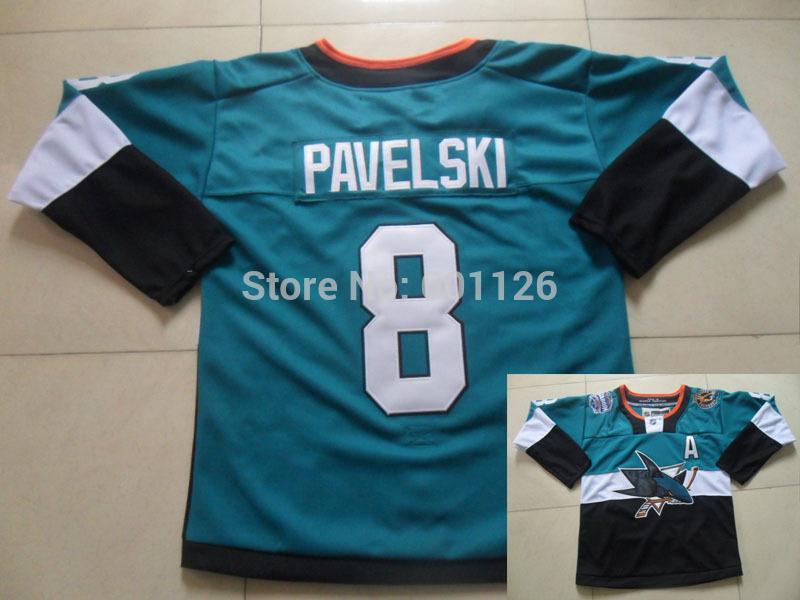product 2015 Stadium Series San Jose Sharks Jerseys 8 Joe Pavelski Stitched ice hockey Jersey