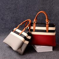 2015 spring new design women's handbag European and American style elegant color block shoulder bag messenger bag factory price