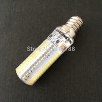 High Power 9W 110-140V/220-240V SMD3014 LED E12 Lamp Corn Bulb LED Bulb 10pcs/lot white e17