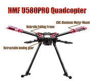 HMF U580PRO Totem Umbrella Floding Quadcopter Frame W/Electric Landing Gear 580
