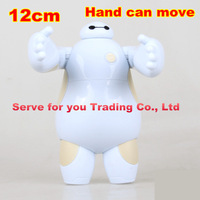 Big hero 6 Action Figure White Fat Man Surperman Hand can move Movable Collectile Model Toy best gift for children free shipping