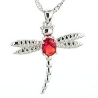 Artificial Diamond Womens Jewellery Pendant Necklace - Pendant Platinum Plated Fashion Necklaces for Women 2014-T0010