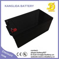 12v 250ah solar panel power battery