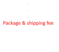 Package & shipping fee or other fees or tungsten links fee