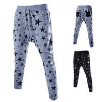 2015 New Hip Hop Overall Men Outdoors Pants Baggy Harem Pants Calca Masculino Moletom Mens Joggers Sweatpants Drop Crotch Pants