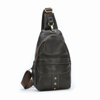 genuine leather bags for men messenger bags male chest pack shoulder bags crossbody bag