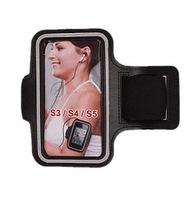 S3 S4 S5 Sports Armband Durable Smartphone case For Samsung galaxy S4 i9500 & S3 i9300 10 colors 10 Pcs/lot