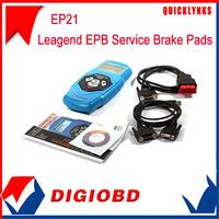 2015 Latest Version Leagend Electronic Parking Brake EPB Service Tool EP21 Free Update Online Brake Pads Scanner
