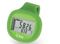 3D sensor pedometer, time display, 7 days memory, calorie pedometer