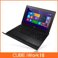 Original Cube iWork10 U100GT 10.1″ Quad Core Tablet PC Intel Atom Z23740D 1.33GHz 2GB 32GB 2.0MP Dual Cameras Windows 8.1 HDMI