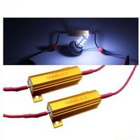 5pairs  Led Load Resistor 6ohm 50W Fix LED Lamp Bulb Fast Flash Turn Signal brake running light Blink Flashing