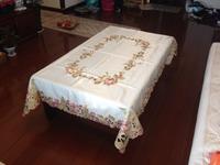 tablecloths 2014#/54*72 inch  bedcloth textile quilt duvet cover sheet set plush product pillow bolser drawnwork FREE SHIPPING