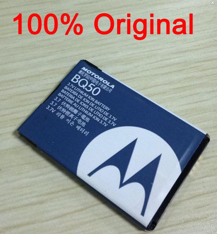 100% Original Battery BQ50 Rechargeable For Cellphone Motorola K1m Z6tv Q V190 V323 V325 V360 V361 W260 W315 W510 W755 Z6m A1200(China (Mainland))