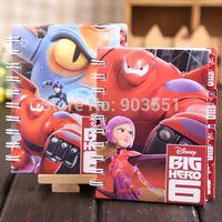 Cartoon Big Hero 6  Diary book stationery book notepad notebook copybook Free Shipping