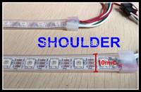 FREE SHIPPING 5m 60 Pixels/m 60leds Individually Addressable WS2812B WS2812 5050 RGB LED Strip 5V white PCB  rgb led light stirp