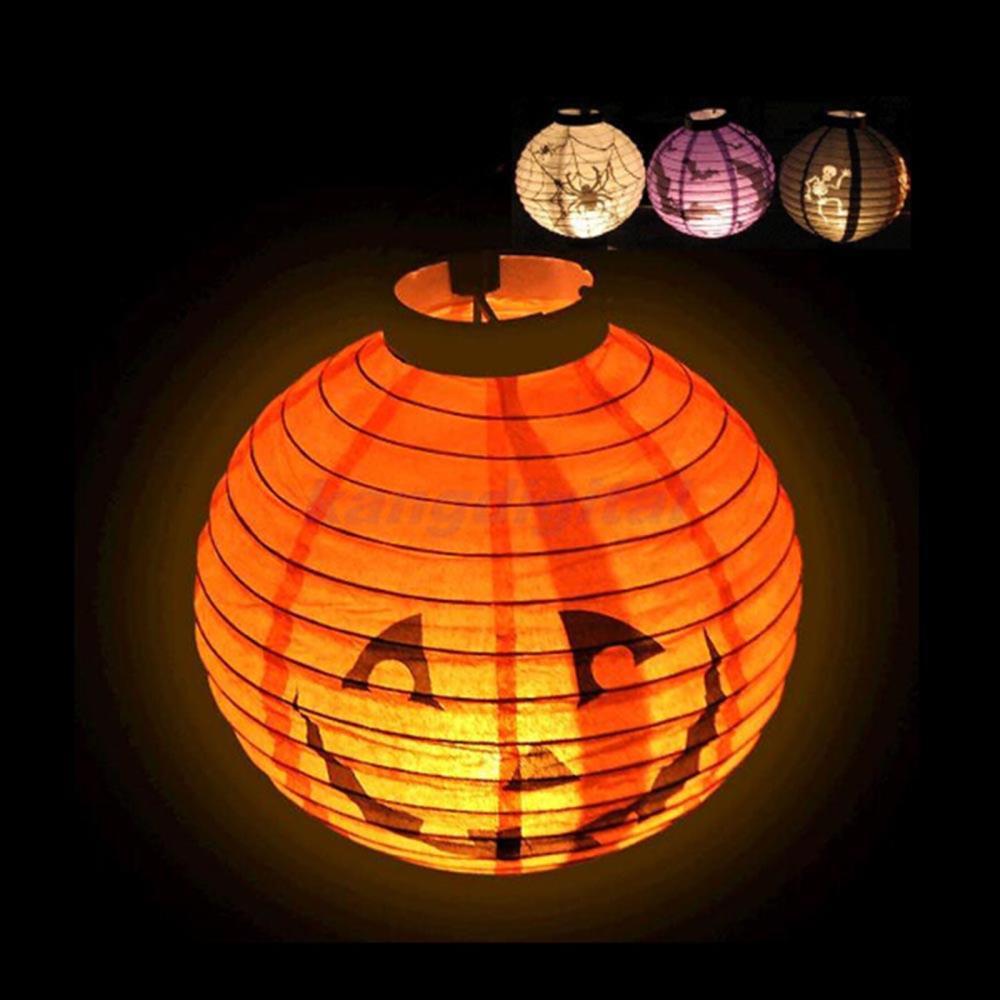 decoracao festa glow:bonito festa Festival Halloween decoração do da lâmpada abóbora