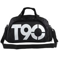 2015 New Fashion Multifunctional Men's Travel Bags Brand Waterproof Outdoor T90 Sport Bag Men's Duffle Bag Backpacks