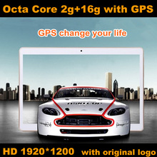 New 2014 9.7 inch tablet MT6952 Octa Core Tablet PC 3G Phone Call 1920*1200 IPS 5.0MP Camera 2GB/16GB Android 4.4.2 Tablet Pcs