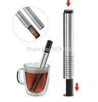 304 stainless steel detachable tea filter, tea strainer, tea separation net