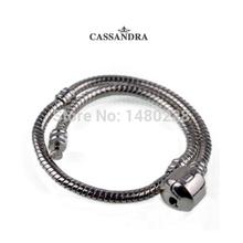 European fshion beads fits Pandora Snake Chain bracelets free shipping
