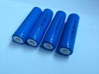 New 4pcs/lot 3.7v 18650 rechargeable li-ion battery for flashlight