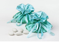 50 Wedding Favors Gifts Candies Jewerly Packing Pouch Satin Bags Creative Birthday Shower Decor Event Party Supplies Wholesale