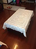 tablecloths G1382/54*72 inch  bedcloth textile quilt duvet cover sheet set plush product pillow bolser drawnwork FREE SHIPPING