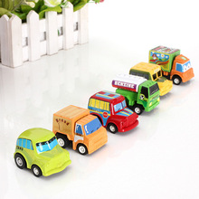 2015 New Arrival Promotion Rushed Multicolor Plastic Mini Pull Back Model Set Car Educational Toys Children(China (Mainland))