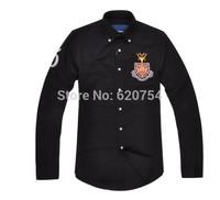 2015 new brand shirt 100% cotton fashion casual shirt  long-sleeved men dress shirt Free Shipping #7047