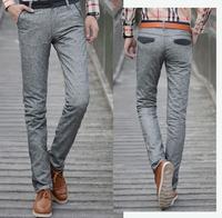 2015 new style high quality Men's Linen cotton trousers men Casual Pants Linen Men's Clothing pants Size Breathable Linen Pants
