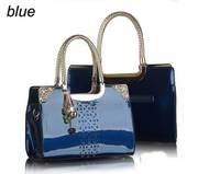 New 2015 Fashion Desigual Brand Women Handbag Patent Leather Shoulder Bags Women Messenger Bags Tote Bolsas Lady Crossbody Bag