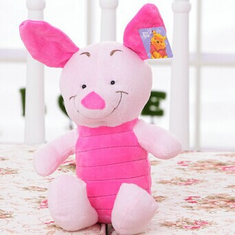 small size 30 cm 1 piece new arrived pink rabbit pig high quality stuffed plush toys baby child Children's birthday present(China (Mainland))
