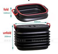 Fiat freemont JCUV Telescopic trunk compartment storage box barrel