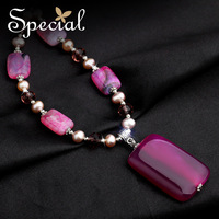 Special Winter New Arrival Fashion Necklaces & Pendants Natural Agate Free Shipping Gifts For Girls Women XL150108