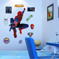 Home Decor Environmental Removable Wall Sticker/Wallpaper/Background-Spider-man 1