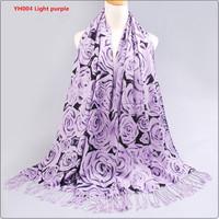 2015 slanting stripe cotton scarf print tassel women's cape autumn and winter thermal scarf 200cm15011302
