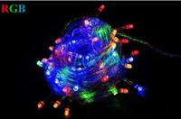 10M 100 LED Christmas Lights LED String Light Fairly Lamp LED Light Outdoor Lighting with end jack 100pcs/lot (CN-LSL21) dn