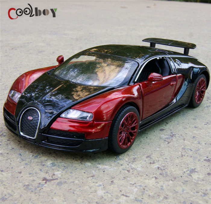1:32 Bugatti Veyron Alloy Diecast car model collection New Electronic Car with light&sound(China (Mainland))