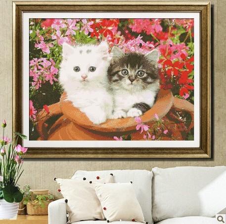 комплекты два котенка на