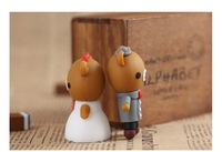 Wholesale Flash Drive Cute Bear wedding bear 8gb 16gb 32gb 64gb cartoon usb flash drive pen drive memory stick free shipping