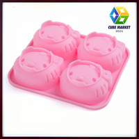 cartoon Shapes Birthday Party bakeware Set moldes for cakes silicone